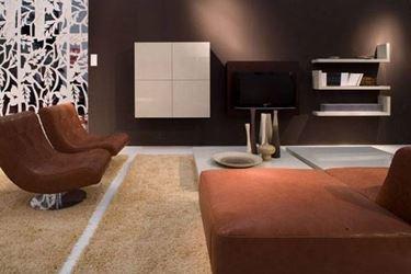 decorare il salotto in stile minimalista