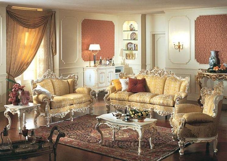 mobili arredamento barocco
