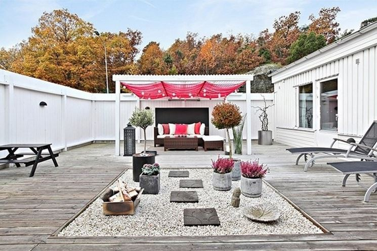 Arredare il terrazzo arredamento casa come arredare for Mobili per il terrazzo