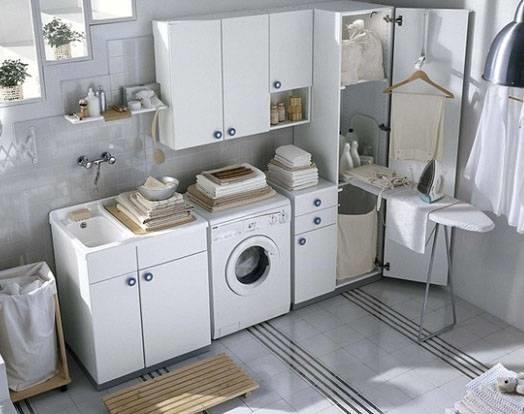 Arredare la lavanderia arredamento casa - Arredo per lavanderia di casa ...