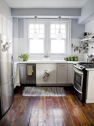 piccola cucina arredata