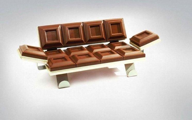 divano al cioccolato