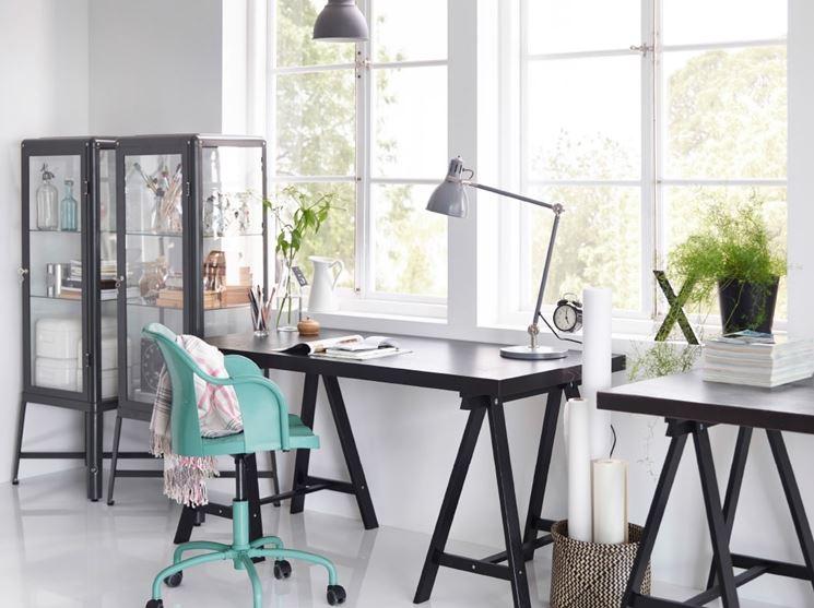 esempio di ufficio in casa
