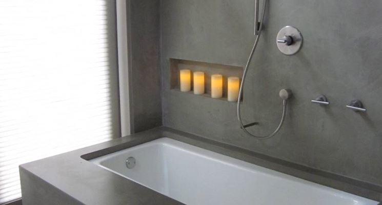 arredo bagno cemento