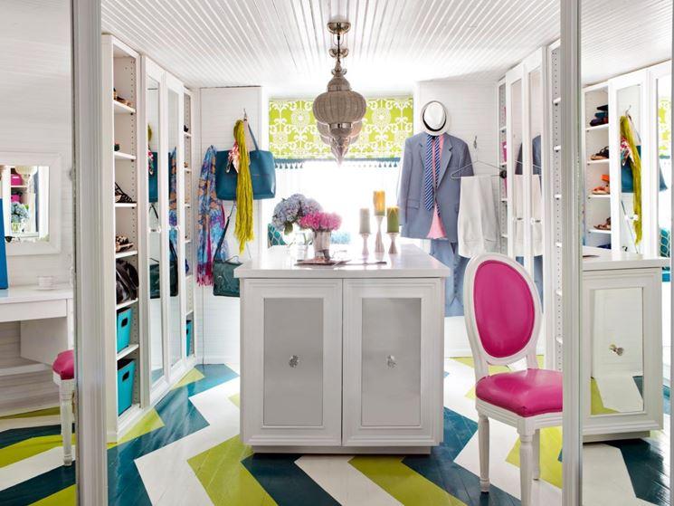 Cabina armadio in mansarda arredamento casa sistemare for Progettare arredamento casa