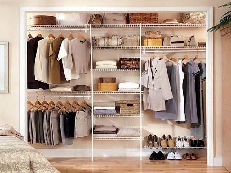 Camera matrimoniale con cabina armadio - Arredamento casa - come ...