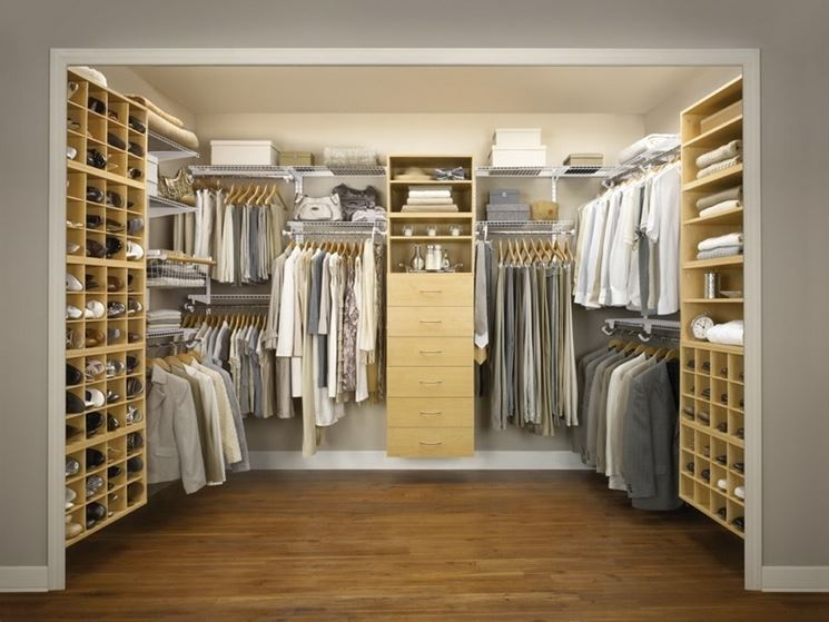 camera matrimoniale con cabina armadio arredamento casa