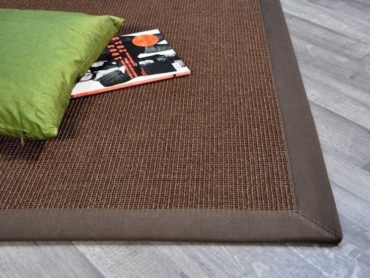 Caratteristiche dei tappeti in sisal arredamento casa - Tappeti bagno su misura ...