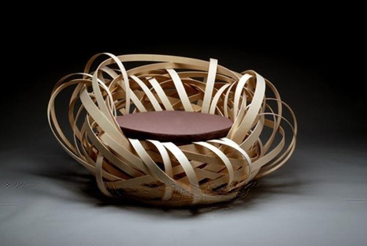 sedie ispirate alla natura