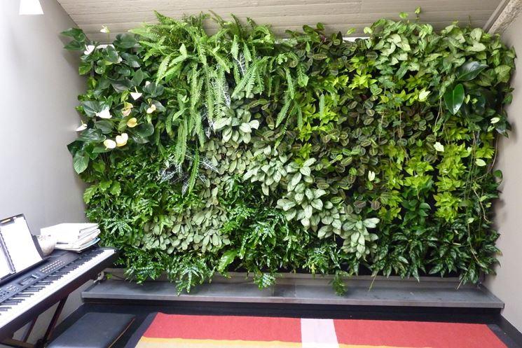 Giardini verticali per una casa green e di design<p />
