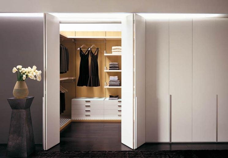 Idee Per Arredare Una Cabina Armadio : Disimpegno trasformarlo in una cabina armadio arredamento casa