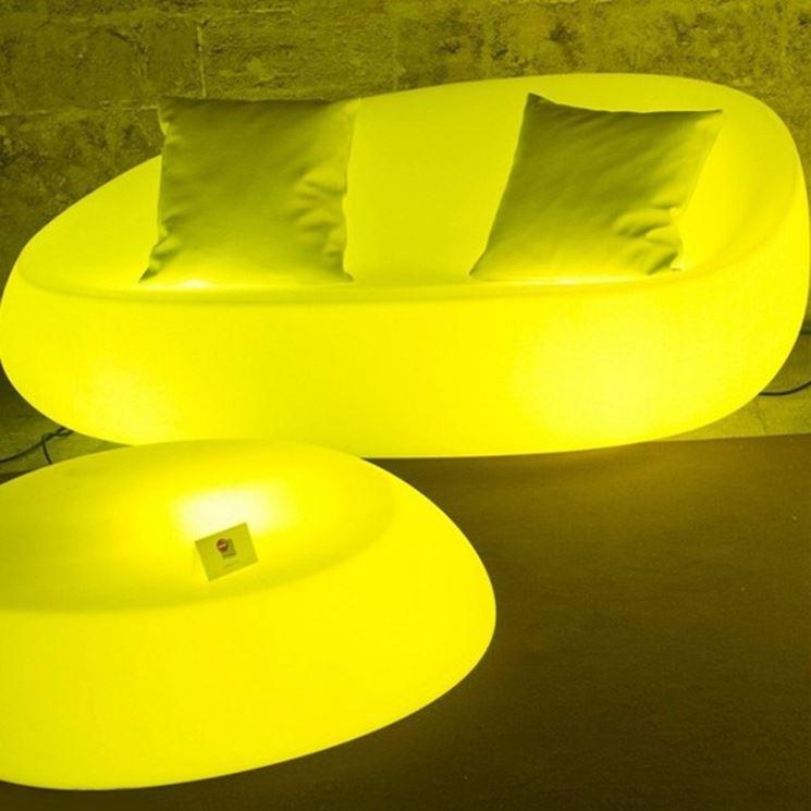 divano luminoso