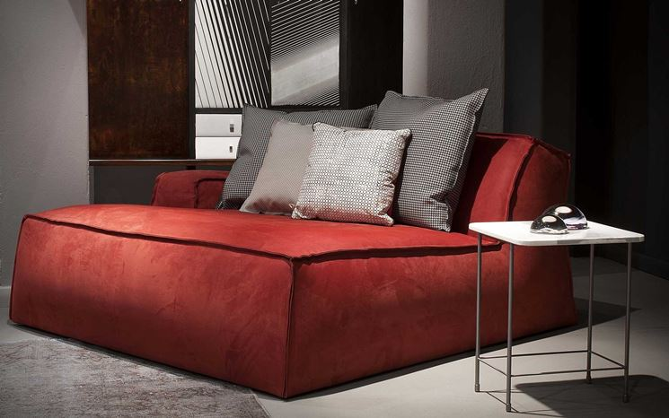dormeuse in rosso Baxter