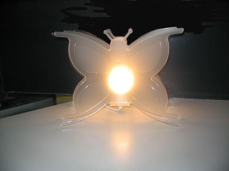 lampada a farfalla