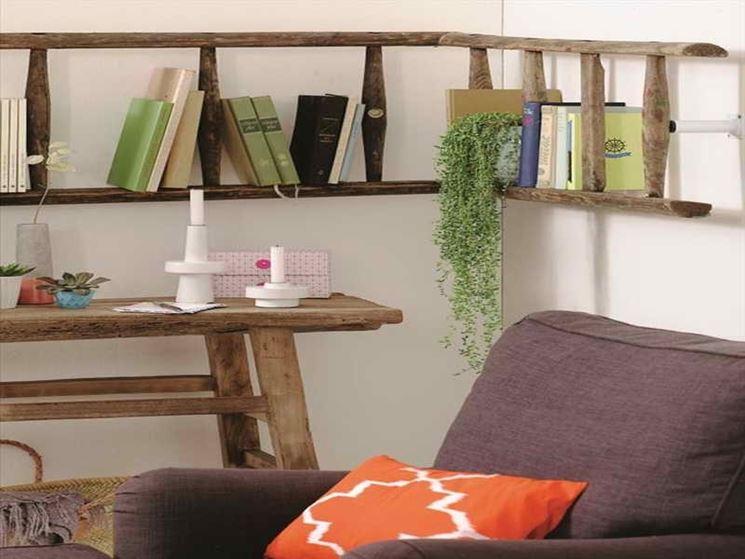Libreria componibile modulare a forma di l arredamento for Arredamento componibile