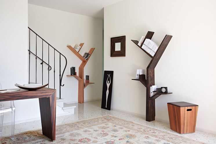 librerie a forma di albero arredamento casa libreria