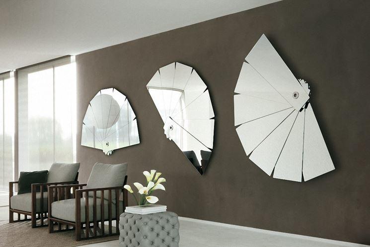 Lo specchio in soggiorno per ampliare lo spazio - Arredamento casa ...