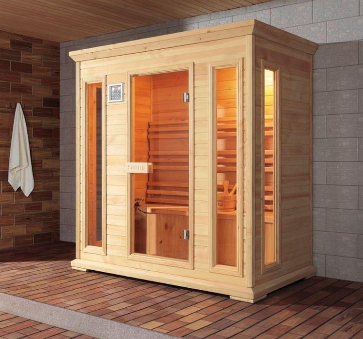Interesting elegant design doccia sauna bagno turco mini - Costo sauna per casa ...
