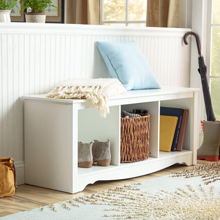 Panca contenitore arredamento casa panca porta oggetti - Oggetti camera da letto ...