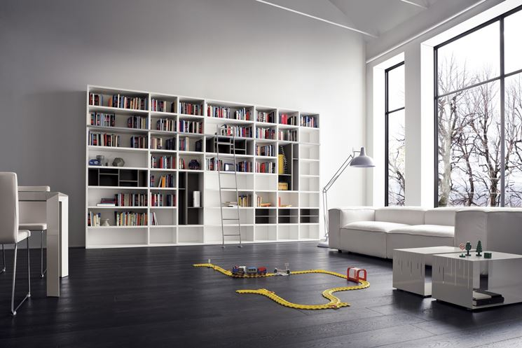 esempio di libreria moderna