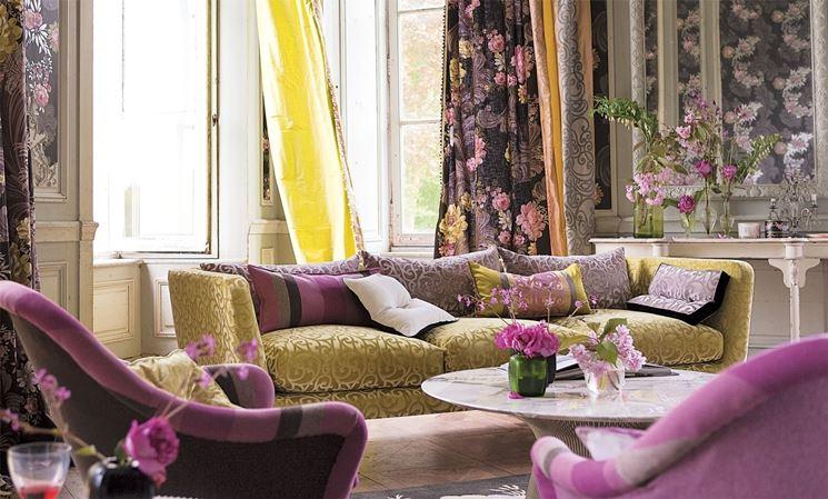 Restyling della casa con i tessuti arredamento casa for Arredamento della casa