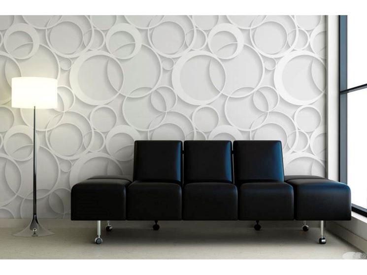 Rivestimenti decorativi 3d arredamento casa i nuovi for Parati in 3d