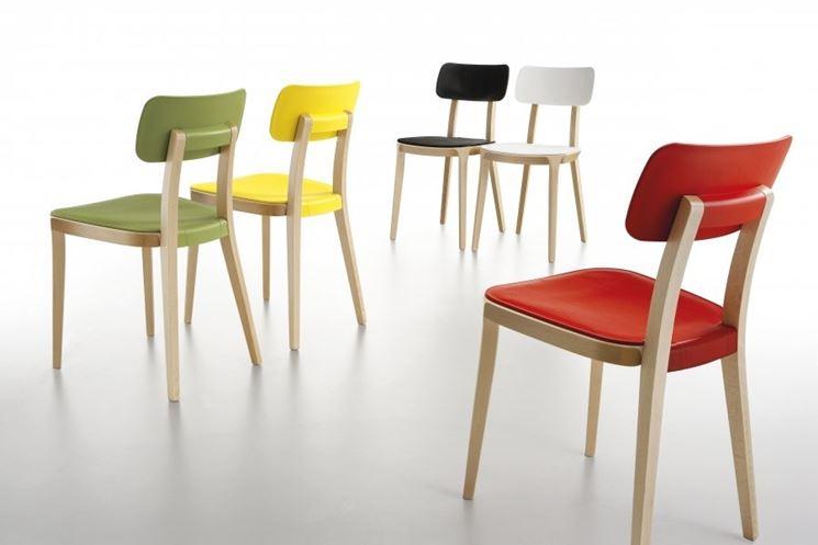 Sedie in legno di design per il soggiorno - Arredamento casa ...