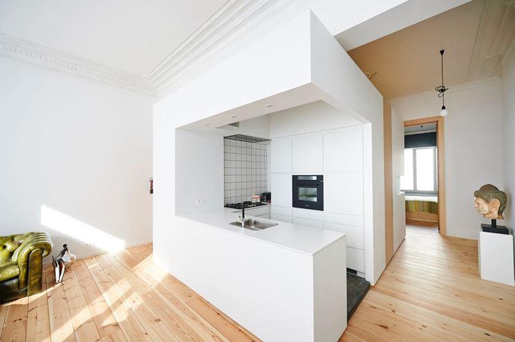 Come Dividere Cucina E Soggiorno. Architetto Gaetano Frud ...