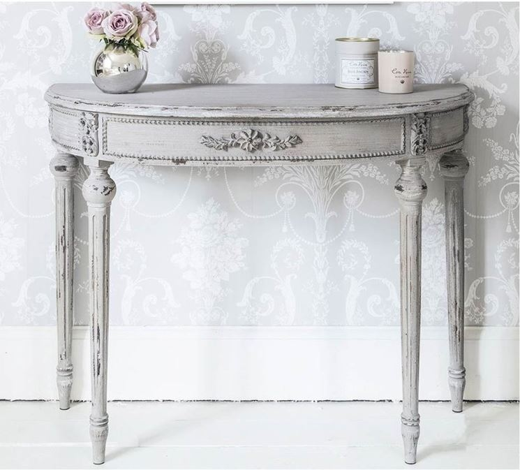 consolle in stile Shabby Chic