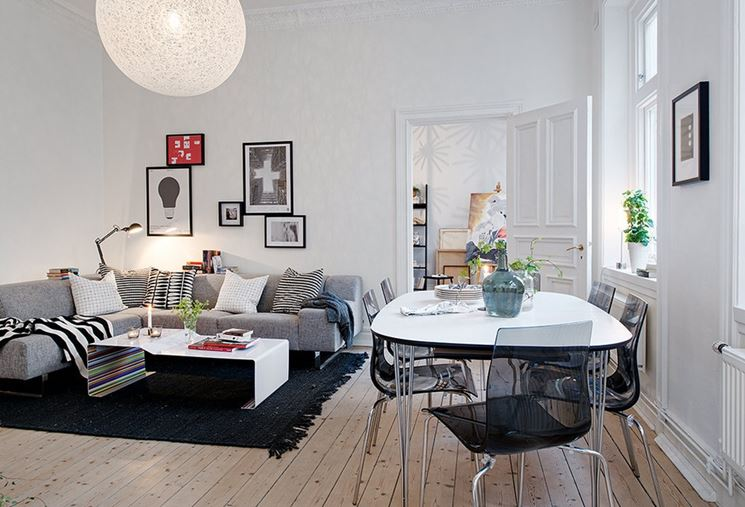 idea per soggiorno moderno open space