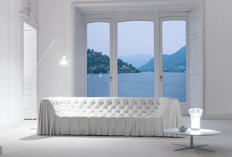 soggiorno bianco