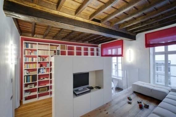 Soluzioni salvaspazio arredamento casa for Arredare sottotetto basso