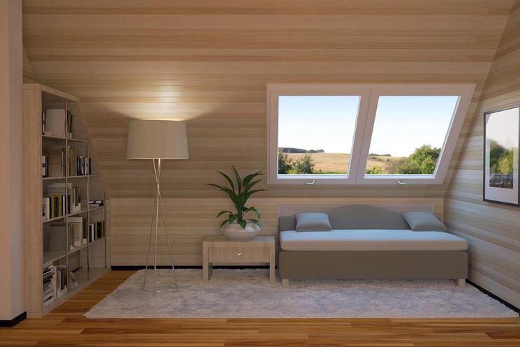Sottotetto abitabile arredamento casa soluzioni per for Arredamento originale casa