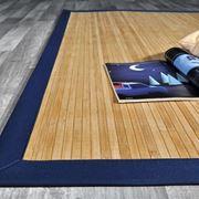 esempio di tappeto in bamboo
