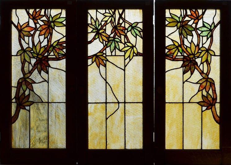 Vetrate antiche arredamento casa vetrate antiche per arredare - Finestre liberty ...