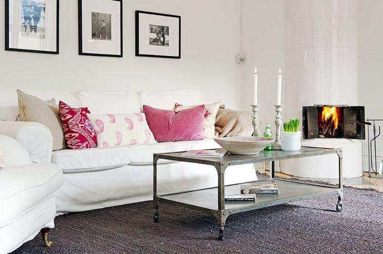 esempio di cuscini per divano