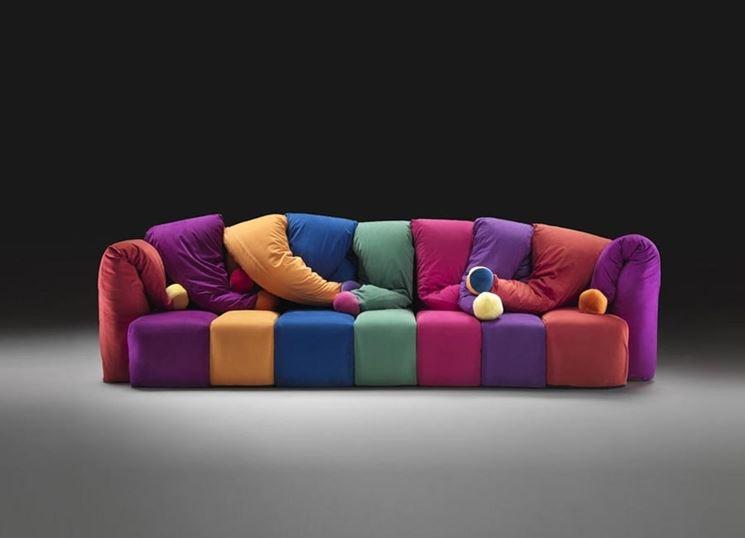 Divani colorati divano arredare con divani colorati - Divani colorati ...