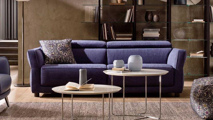 Divani colorati divano arredare con divani colorati for Divano letto natuzzi