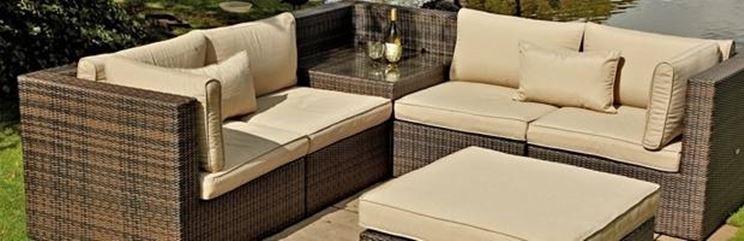 Divani da giardino divano for Divani da terrazzo