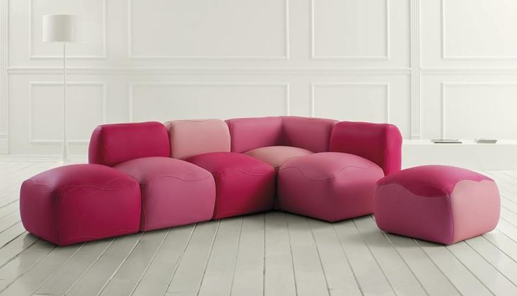 divano componibile moderno