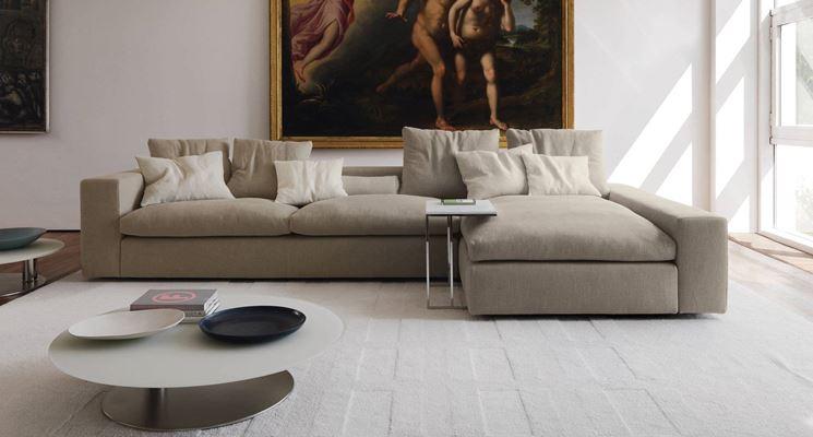 esempio di divano angolare