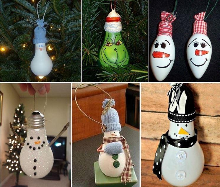 decorazioni con lampadine