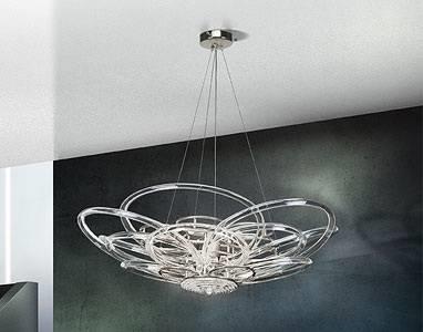 Lampadari pendenti lampade for Lampadari con lampade a led