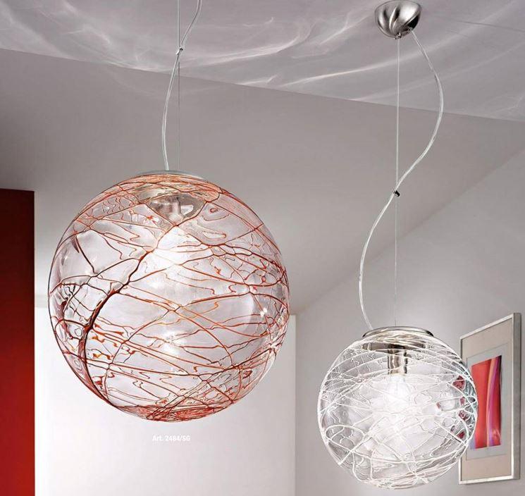 lampadari per salone - Lampade
