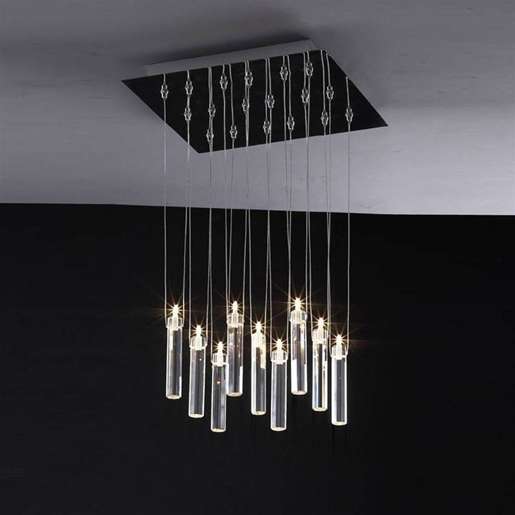 Lampadario moderno   Lampade -> Lampadari Moderni Di Tendenza
