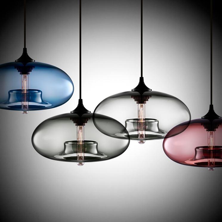 lampadari da soffitto moderni