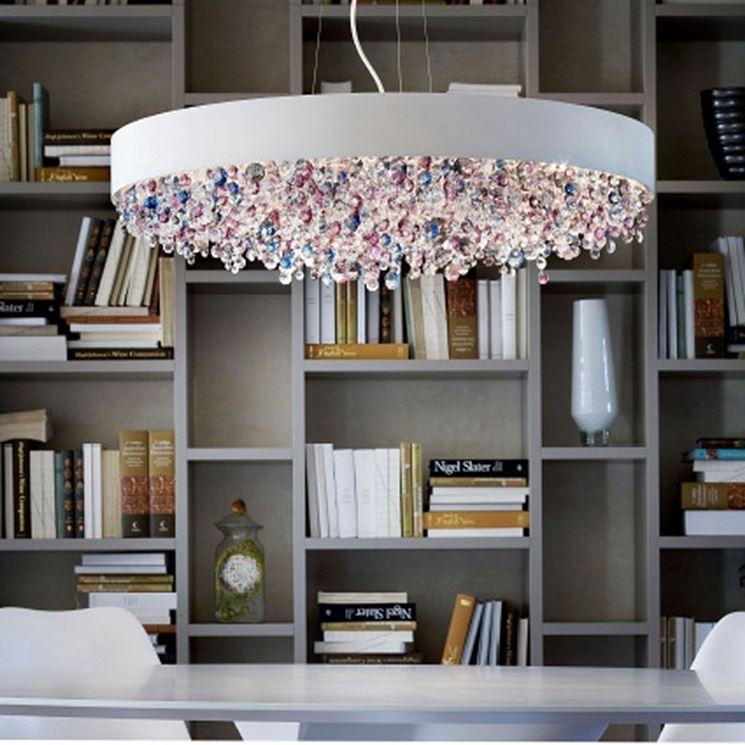 lampadario particolare e originale