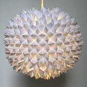 esempio di lampada in carta