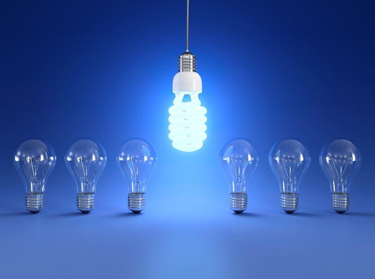 lampada a risparmio