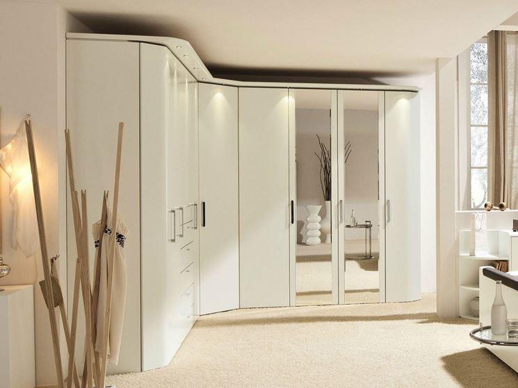 ... camera da letto - Mobili - Armadio angolare per la camera da letto